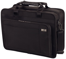 "Victorinox Architecture 3.0 Parliament 15"" Expandable Overnight Brief with Removable Laptop Sleeve"