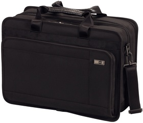 "Victorinox Architecture 3.0 Parliament 17"" Expandable Overnight Brief with Removable Laptop Sleeve"